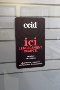 Photo exemple de la CCID.