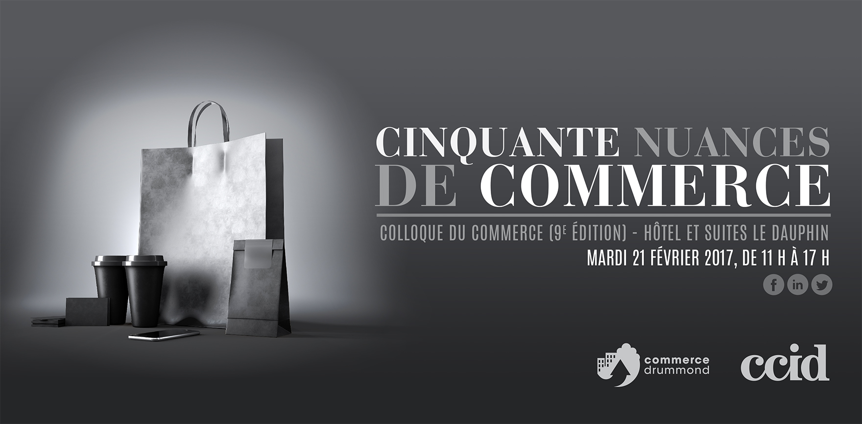 Colloque du commerce cinquante nuances de commerce for Chambre de commerce drummondville