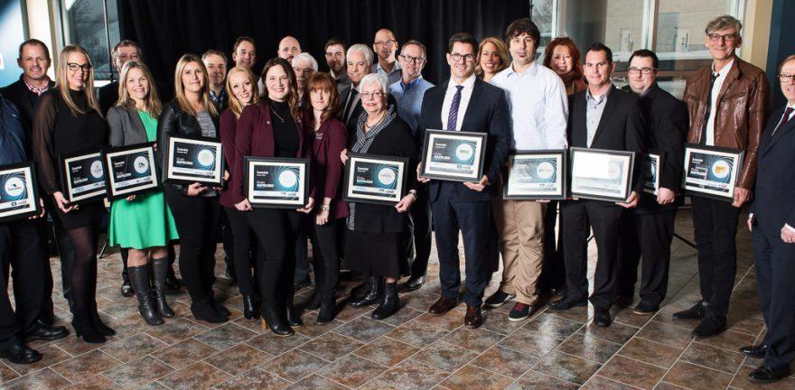 La ccid reconna t une dizaine d entreprises en vue du gala for Chambre de commerce de drummondville